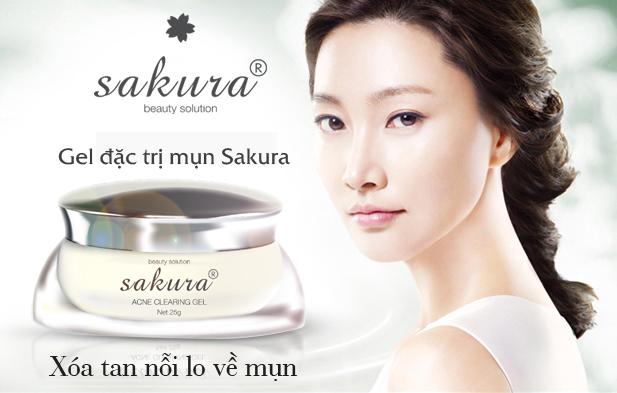 Gel đặc trị mụn Sakura