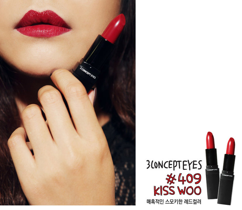 Son 3CE lip color # 409 kiss woo