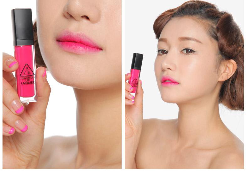 Son 3ce lip lacquer # pink boom1