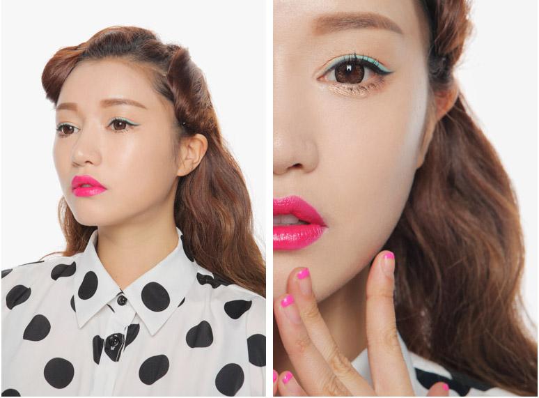 Son 3ce lip lacquer # pink boom4