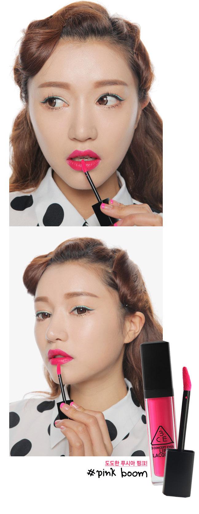 Son 3ce lip lacquer # pink boom5