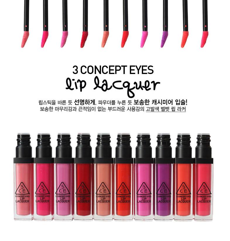 Son 3ce lip lacquer # pink boom9
