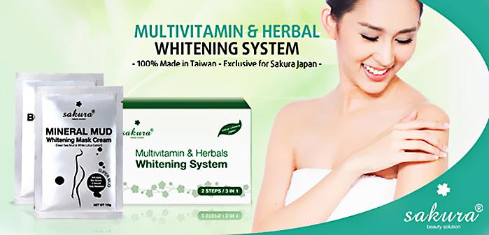 Kem tắm trắng Sakura Multivitamin Herbals