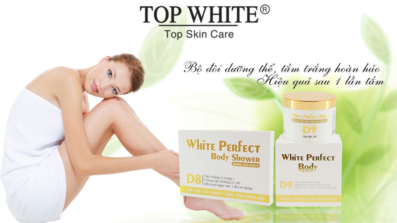 Bộ đôi kem dưỡng thể White Perfect D8