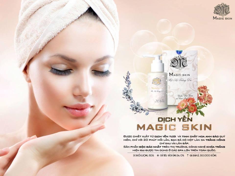 Mặt nạ trắng da Magic Skin