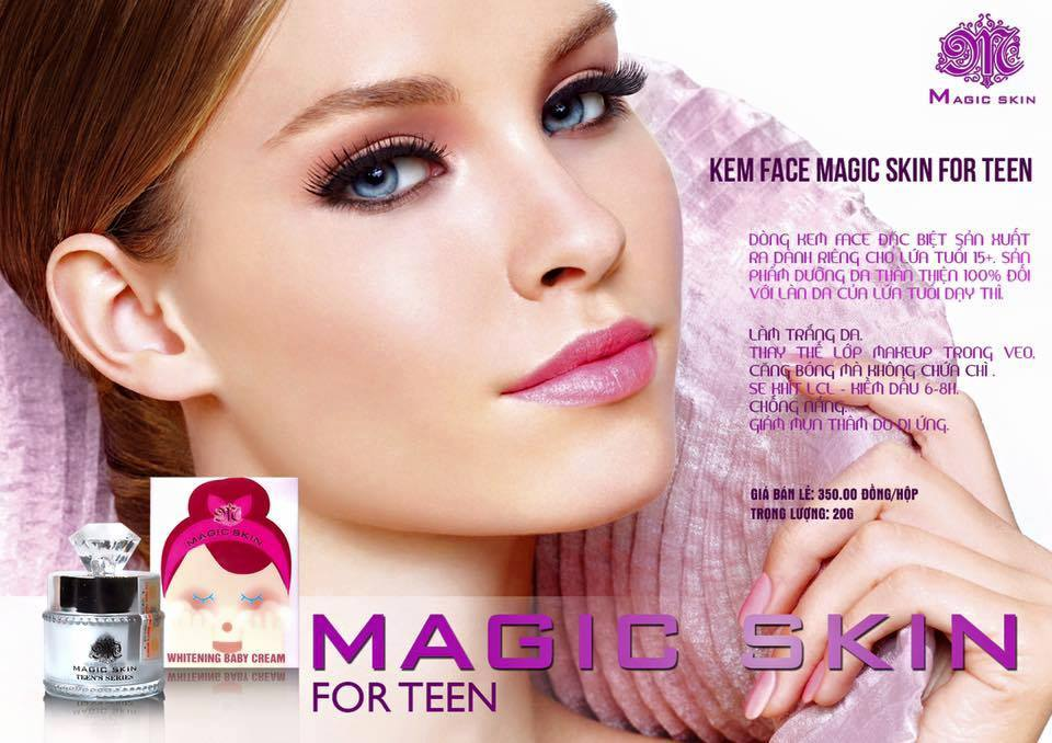 Kem Face For Teen Magic Skin Whitening Baby Cream