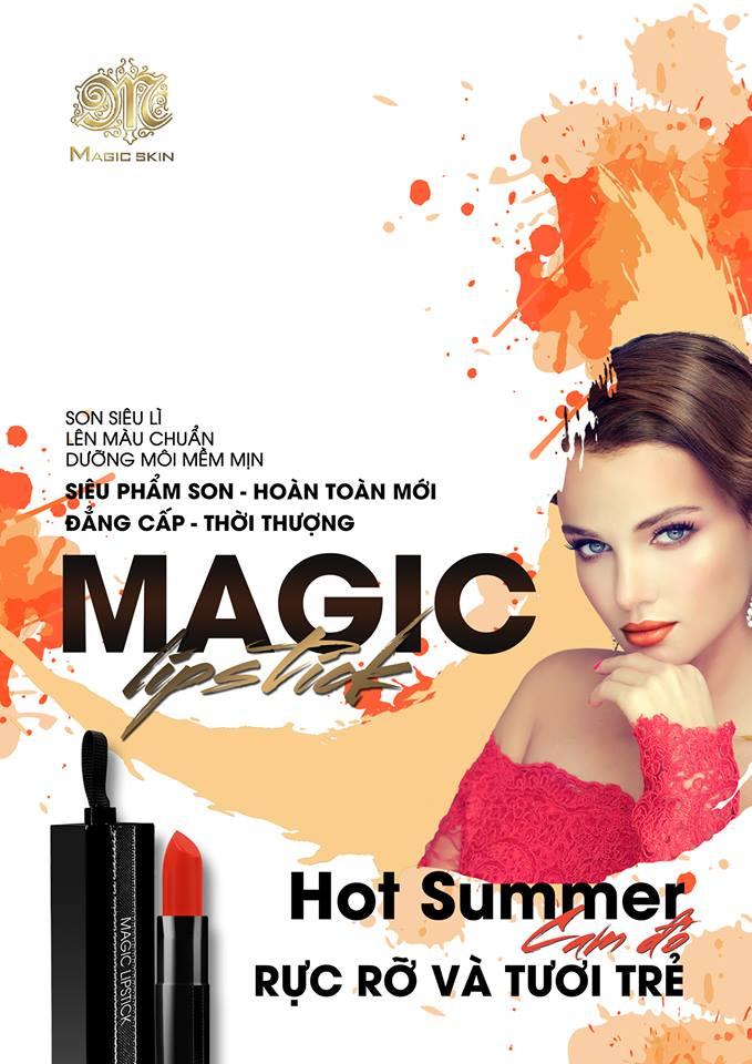 son magic lipstick (hot-summer)