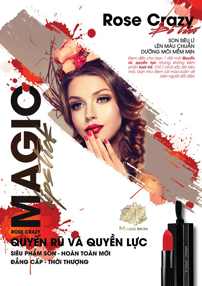 son magic lipstick (rose-crazy)