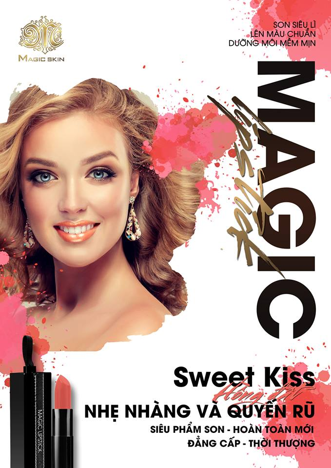 son magic lipstick (sweet-kiss)