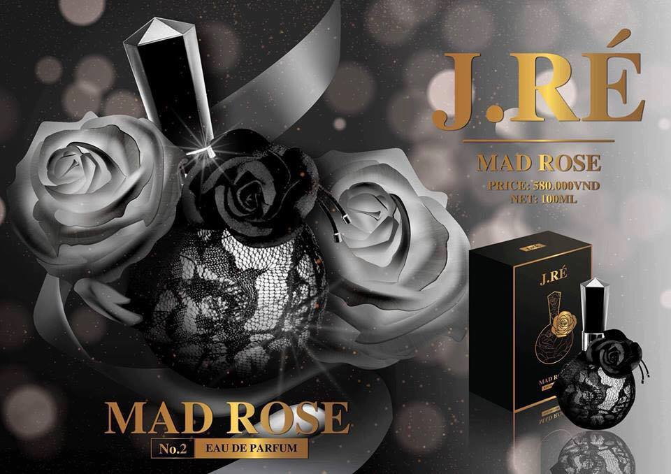 Nước hoa J.ré Mad Rose