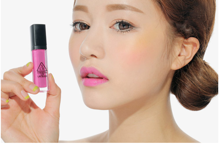 Son 3CE lip lacquer # hawaiian pink2