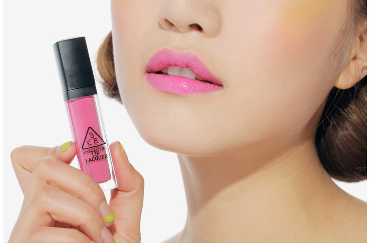 Son 3CE lip lacquer # hawaiian pink6
