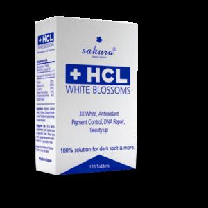 Sản phẩm viên thuốc uống trị nám Sakura HCL White Blossom