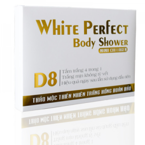 Kem tắm trắng White Perfect Body Shower D8