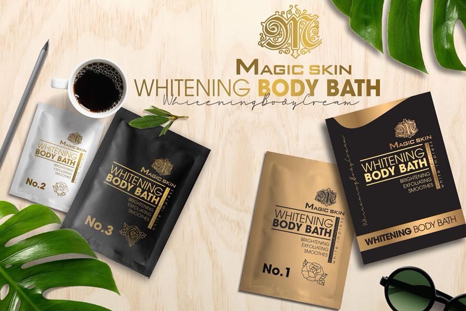 Tắm trắng toàn thân MAGIC SKIN WHITEING BODY BATH