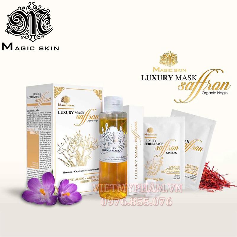 Mặt nạ nhụy nghệ tây Saffron Magic Skin